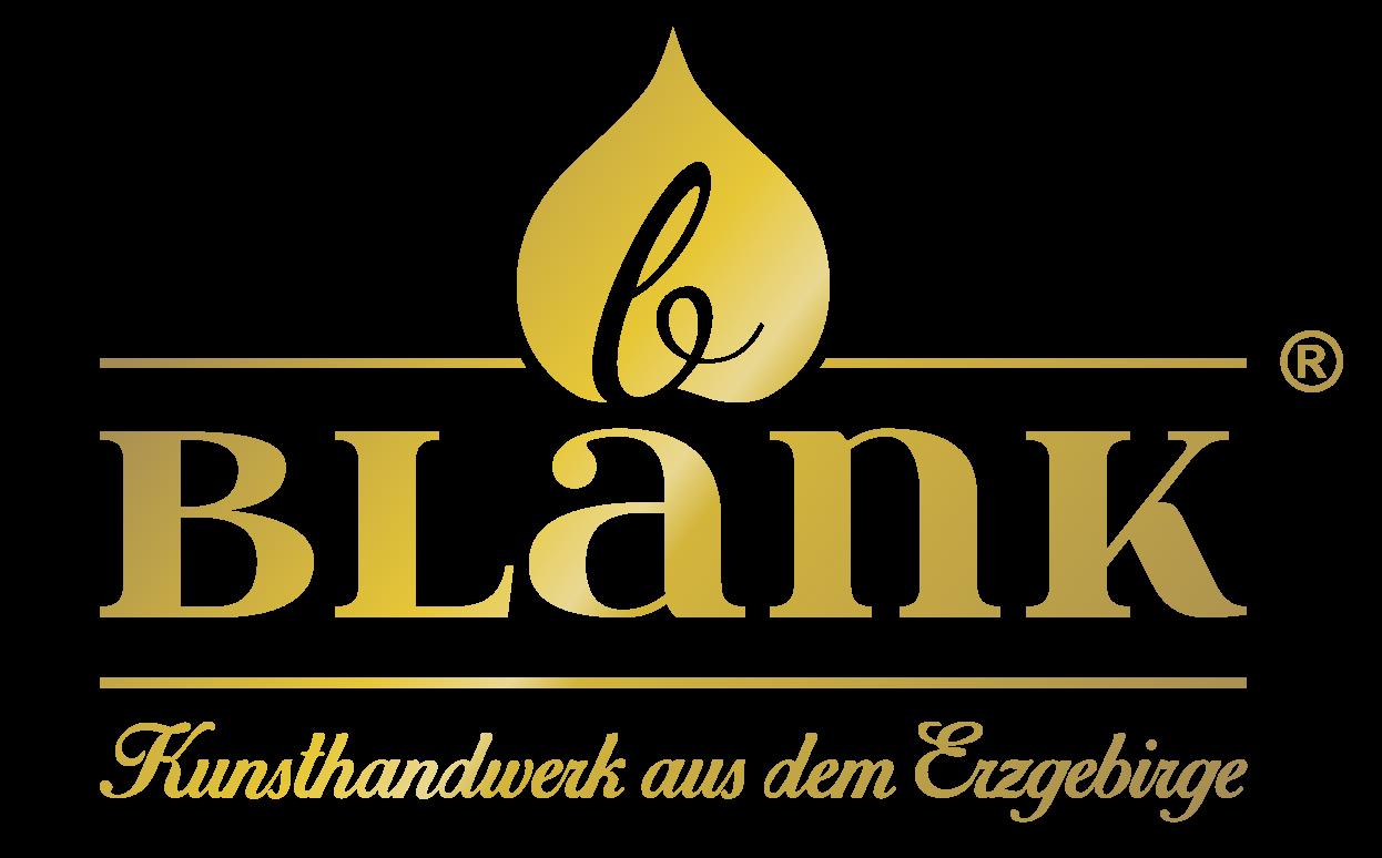 Logo BLANK Kunsthandwerk gold