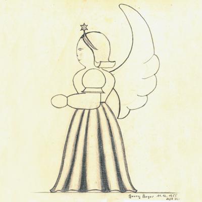 Entwurfszeichnung von Georg Bayer