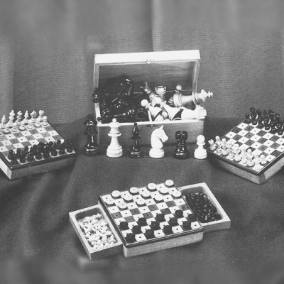 Reiseschachspiel von Georg Bayer